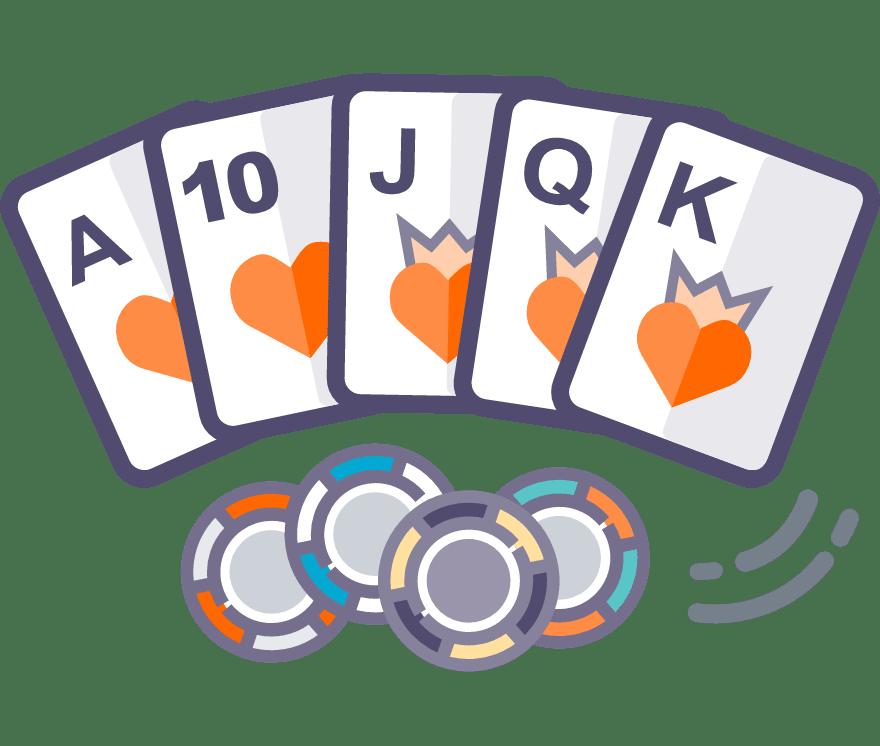 Los 54 mejores sitios de Casino de Texas Hold'em en línea en Perú